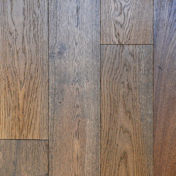 "D & M Flooring, American Vintage Collection 7/16 "" x 6 1/4 "" RL Hardwood Flooring European White Oak in Smooth Auburn Color-0"