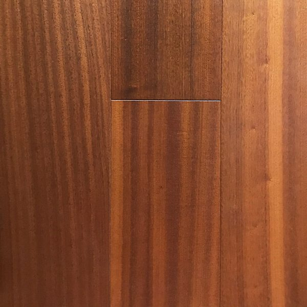 """Flow Decor Inc, Travelers Collection 9/16"""" x 6"""" Hardwood Flooring in Sapele Natural Color-0"""