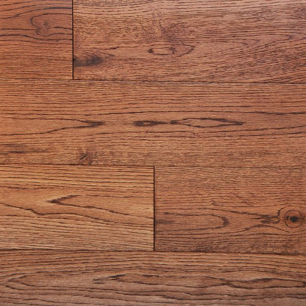 "Millstone, Tradewinds Collection 12 - 48"" x 5"" x 1/2"" Hardwood Flooring European White Oak in Gunstock Color-0"