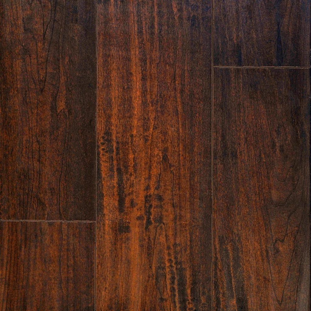 "Patina Design, 7"" x 48"" x 8mm Laminate Flooring Oak in Phoenix Mocha Color-0"