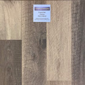"Paradigm, French Oak Collection 0.335"" x 6"" x 49"" WPC Vinyl Flooring French Oak in Clarion Color"