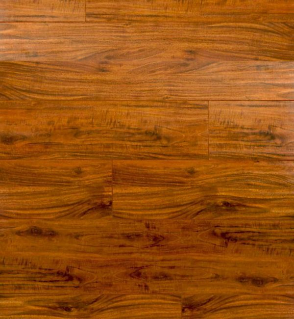 Hazelnut Laminate Flooring, Handscraped Collection , 12.3 mm