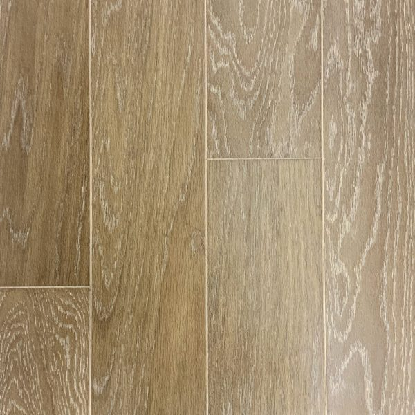 L&M Flooring , Camden White Oak Collection Engineered Hardwood in Boardwalk Bleach Color