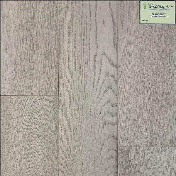 Tradewinds Series, Slate Grey, White Oak, Millstone Collection Engineered Hardwood, TDSLA712 | VFO Flooring