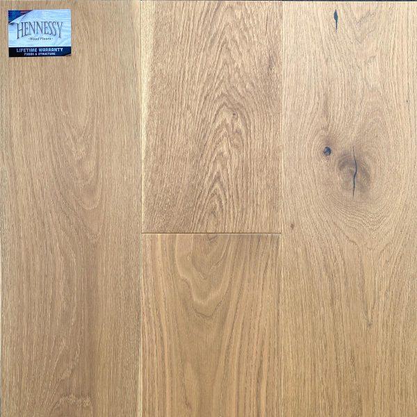 "Hennessy Wood Floors, French Oak 3/4 "" x 9"" x 6' RL Hardwood Flooring in Della Color"