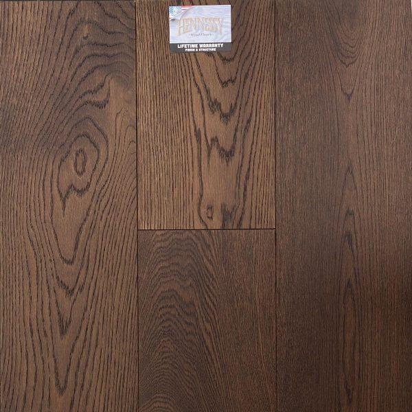 "Hennessy Wood Floors, French Oak 3/4 "" x 9"" x 6' RL Hardwood Flooring in Siena Color"
