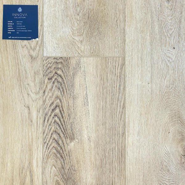 Artisan Hardwood, Innova Collection, SPC Flooring, in Ash Creek Color | VFO Flooring