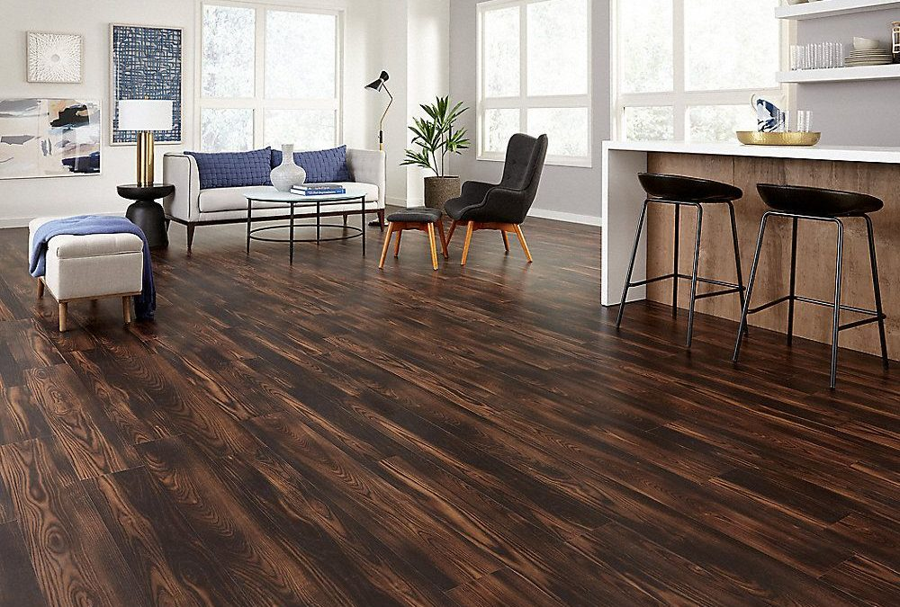 Wood Tile Floor in Burbank