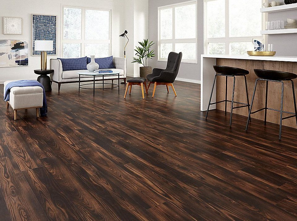 Wood Tile Floor in Reseda