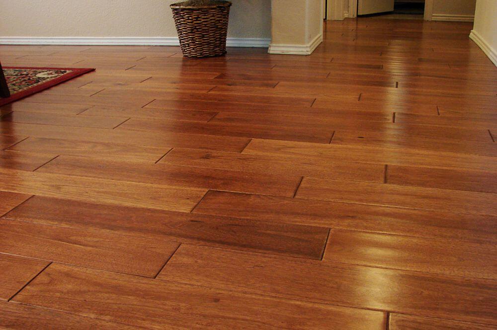 Wood Tile Floor in Panorama City