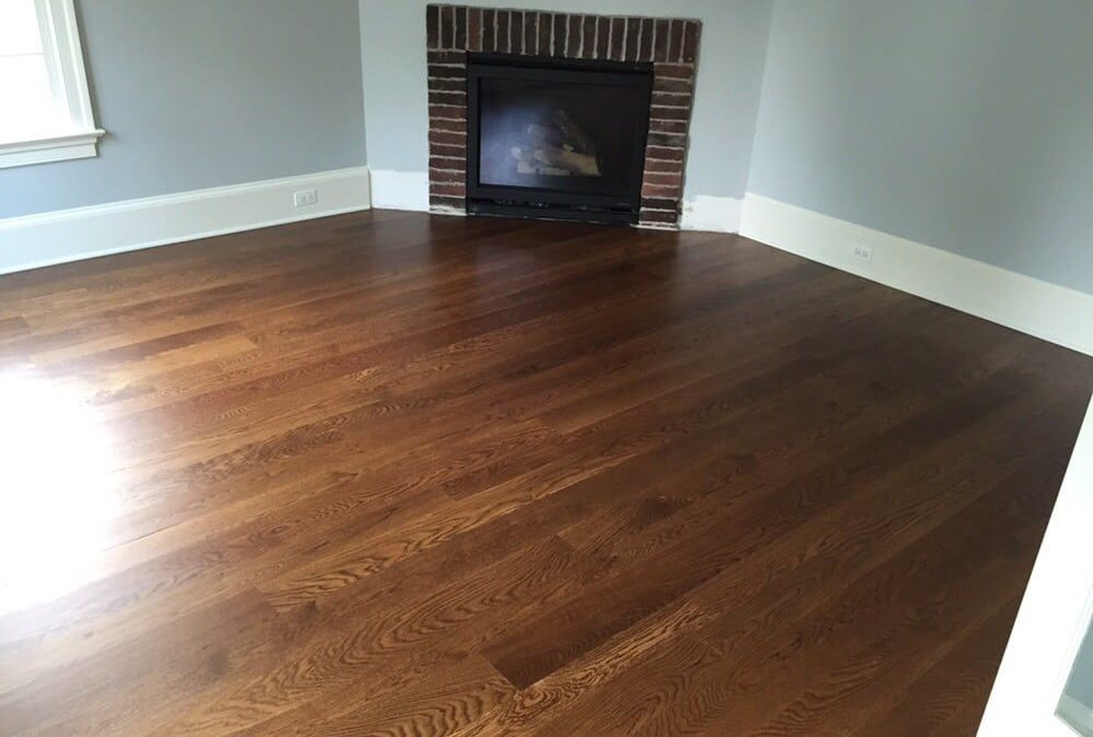 Wood Tile Floor in Shadow Hills