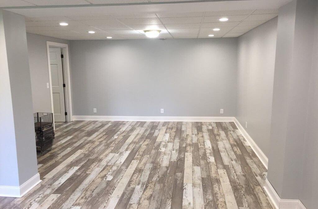 Wood Tile Floor in Woodland Hills