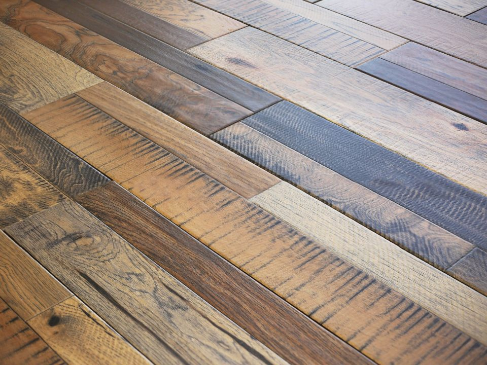 Wood Tile Floor in Porter Ranch