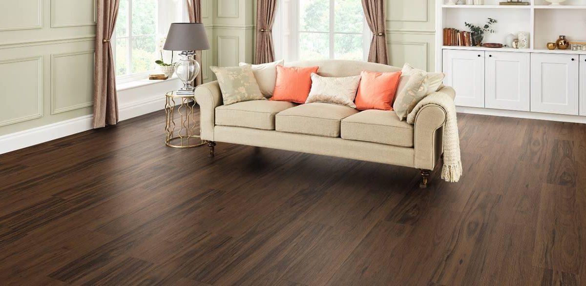 Wood Tile Floor in Sherman Oaks