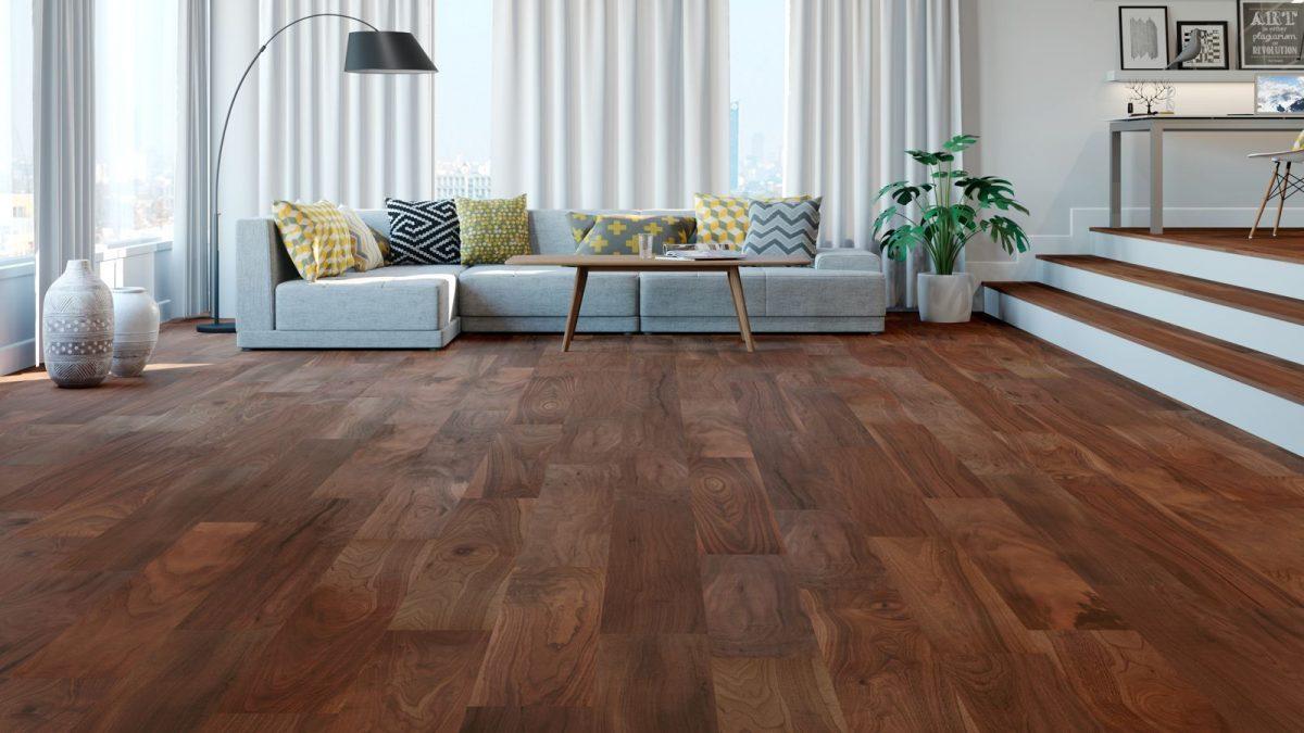 Wood Tile Floor in Lake Balboa