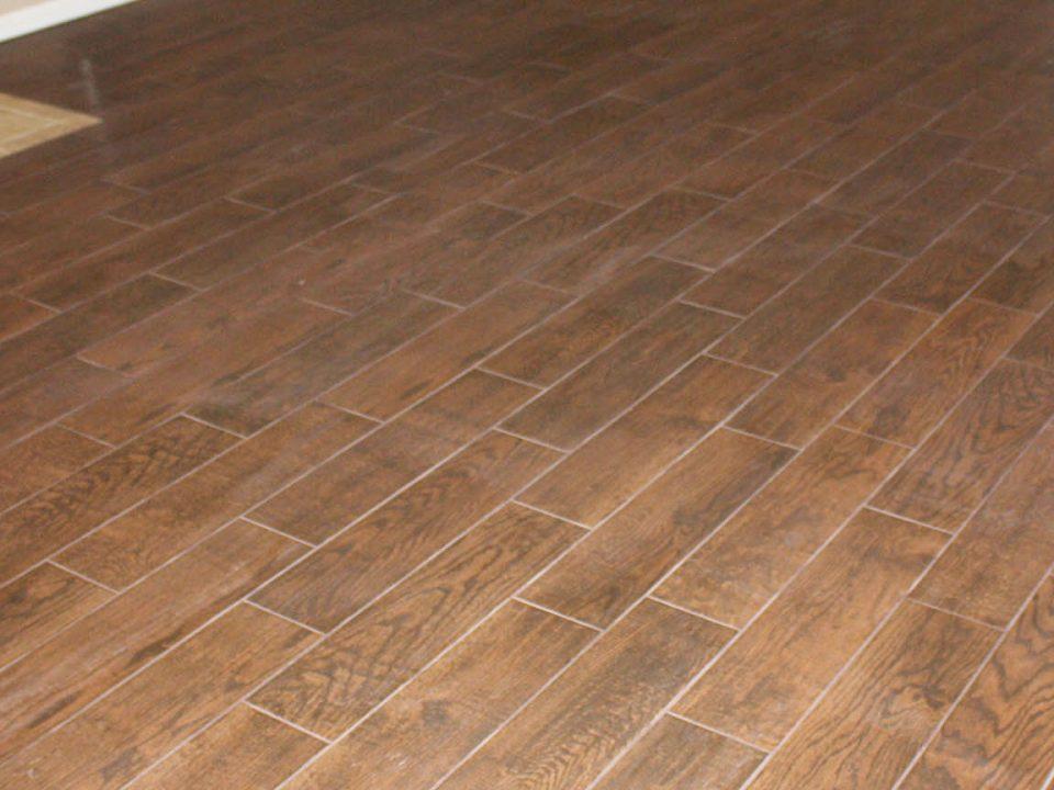 Wood Tile Floor in Pacoima