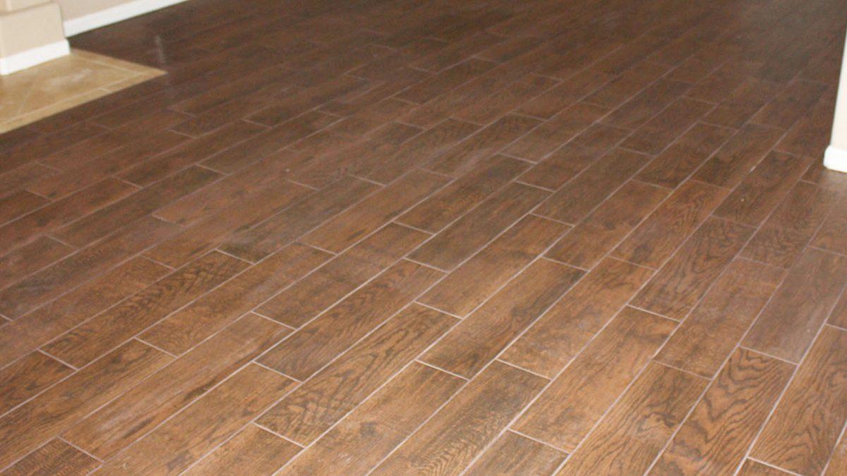 Wood Tile Floor in Winnetka