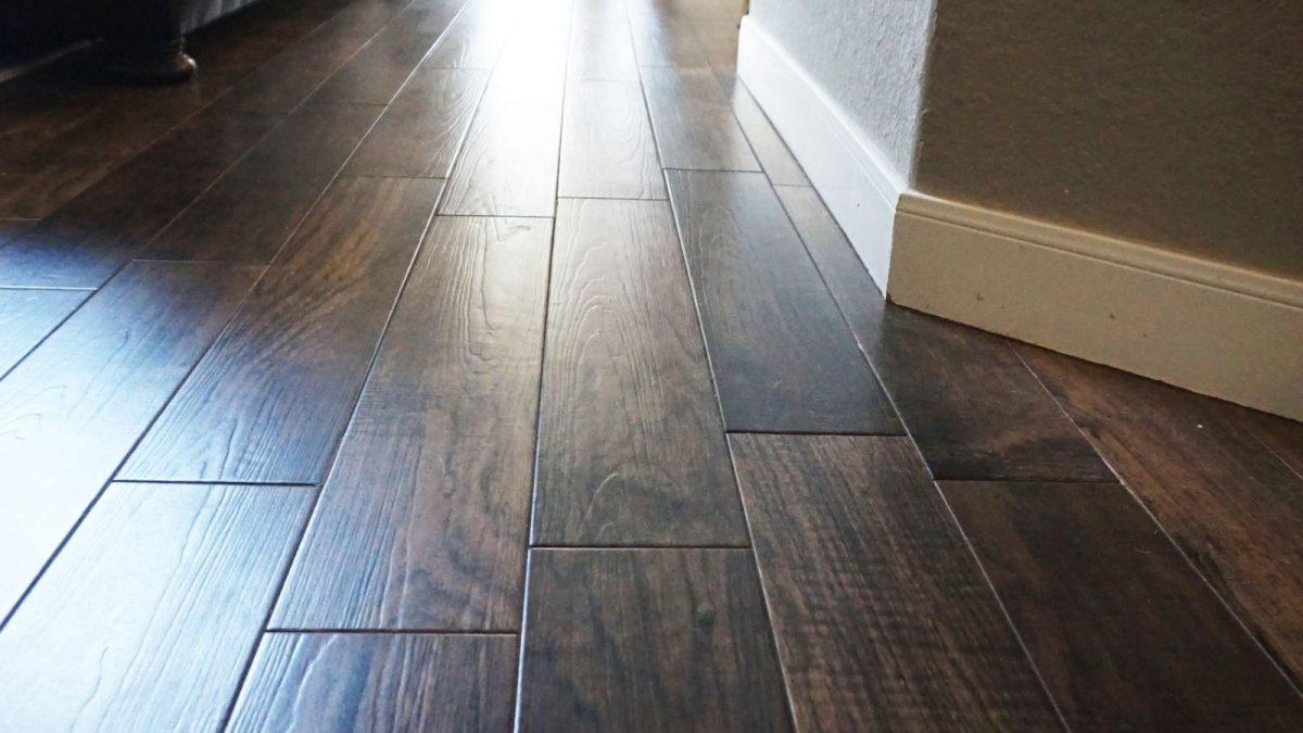 Wood Tile Floor in Shadow Hills