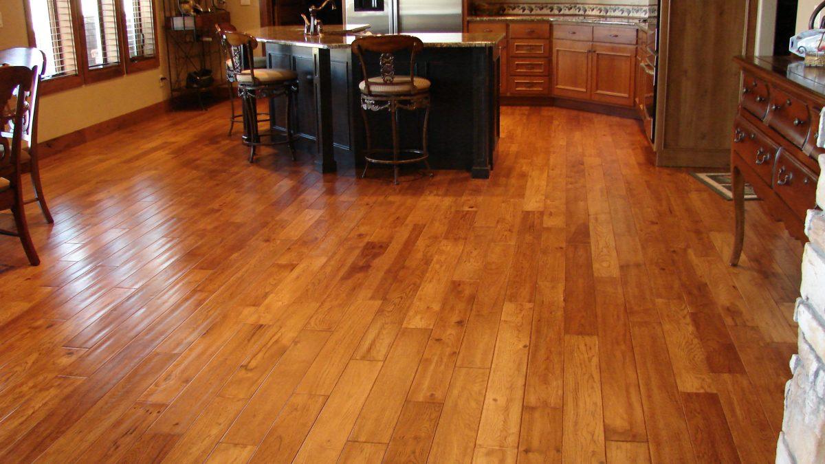 Wood Tile Floor in Encino