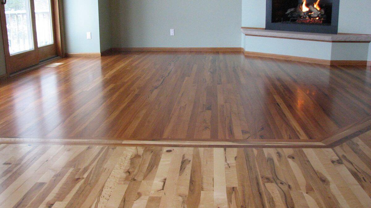 Wood Tile Floor in Valley Village