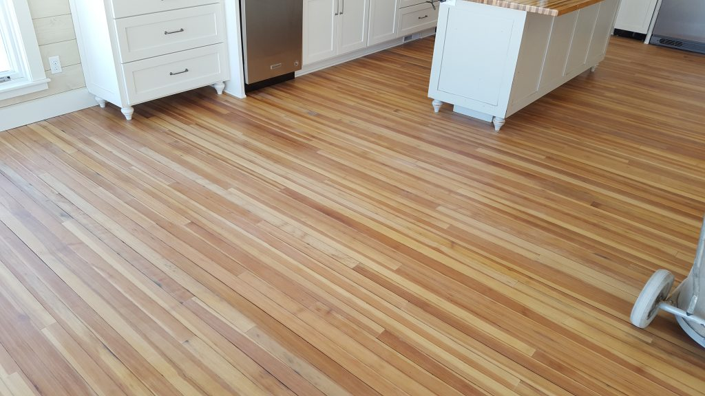 Wood Tile Floor in San Fernando