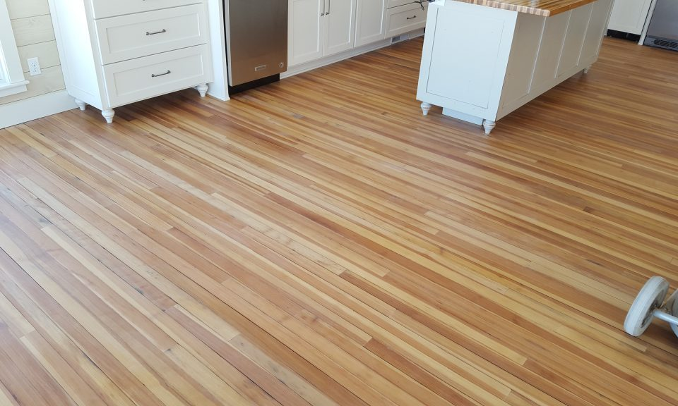 Wood Tile Floor in Sun Valley