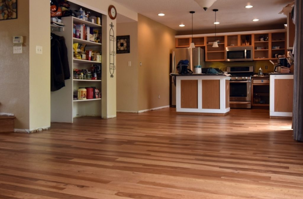 Wood Tile Floor in Hidden Hills