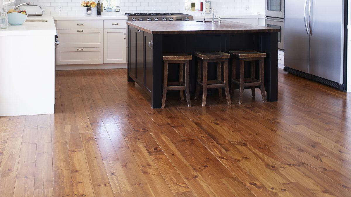 Wood Tile Floor in Mission Hills