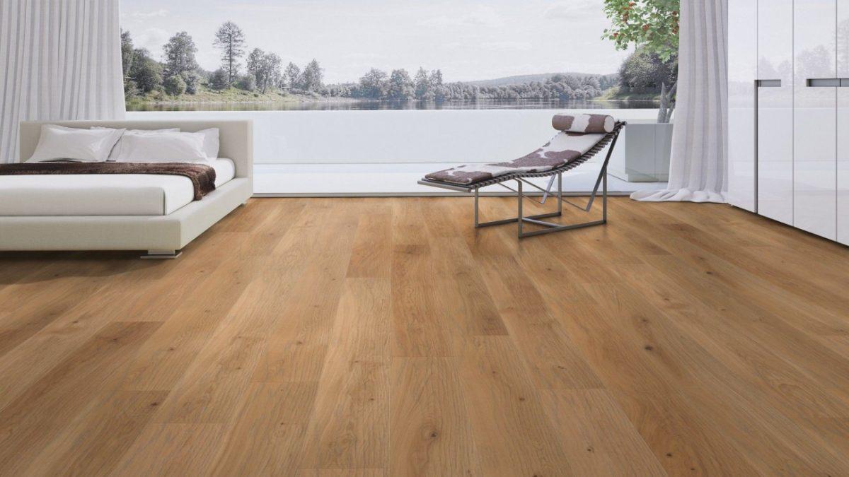 Wood Tile Floor in Northridge